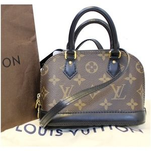 Louis Vuitton Bags - LOUIS VUITTON Nano Alma Owl Crossbody Shoulder Bag d49297e1d40fd